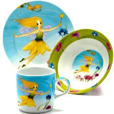"""Набор посуды Loraine """"Фея"""", 3 предмета — купить в интернет ..."""