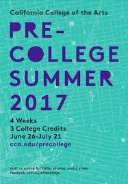 scholarships california college of the arts 2017 pre college brochure