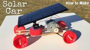 How to Make a Car - <b>Mini Solar Powered</b> Car - Easy to Build ...