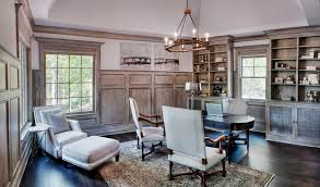 den decorating ideas home office traditional with built in shelves dark floor wood flooring wood flooring beautiful home office den