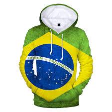 Aikooki Brazil <b>National Flag</b> 3D Hoodies Men/women <b>Fashion</b> ...