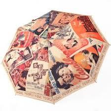 free shipping Monet oil painting <b>automatic umbrella</b> three folding ...