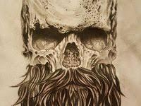 <b>Bearded Skull</b> Tattoo