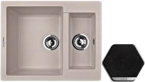 <b>Кухонная мойка LAVA Lava</b> D1.LAV, купить в Москве по цене 9 ...