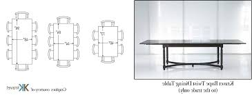 dining room awesome table sizes square