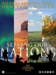 national american n heritage month  poster national american n heritage