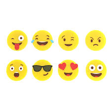 Разное :: Кольца для бокалов :: <b>Маркеры для бокалов Emoji</b> 8шт.