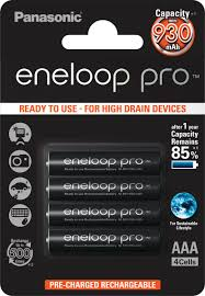 "<b>Аккумулятор Panasonic</b> ""Eneloop Pro"", тип <b>AAA</b>, 930 мАч, 4 шт ..."