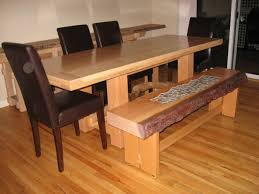 Dining Room Bench Seating Dining Room Table With Bench Rustic Dining Room Sets Rustic