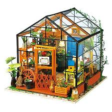 <b>DIY Miniature Dollhouse</b> Kit: Amazon.com