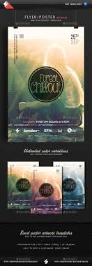 forest chillout event flyer template by sao108 graphicriver forest chillout event flyer template concerts events