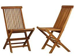 <b>Bare</b> Decor <b>BARE</b>-DC1021 Vega Outdoor Folding Chair, <b>Set of 2</b> ...