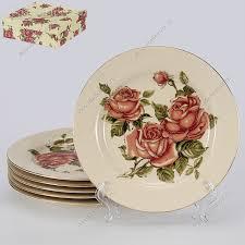 <b>Набор</b> керамических <b>тарелок десертных 19 см</b> в Москве | купить ...