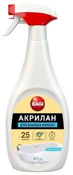 <b>Bagi</b> пена для уборки ванной <b>Акрилан</b> — купить по выгодной ...