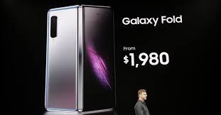 Samsung's foldable phone is the $1,980 Galaxy <b>Fold</b> - The Verge