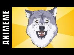 Courage Wolf | Know Your Meme via Relatably.com