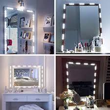 Amazon.com: Gotian Dimmable 60 <b>LED Vanity</b> Light Kits <b>Cosmetic</b> ...