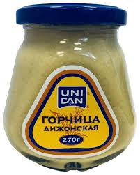 <b>Горчица UNI DAN</b> Дижонская, 270 г — купить по выгодной цене ...