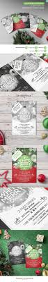 christmas party flyer template psd mockups christmas party flyer template