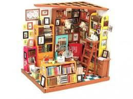 <b>Сборная модель DIY House</b> Библиотека DG102 9-58-010553