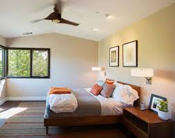 bedroom wall lighting ideas light brown oak wood platform bed with extra tall headboard most seen bedside wall lighting