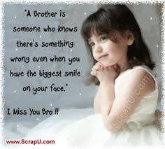 Missing you brother on Pinterest | Miss You, I Miss You and Grief via Relatably.com