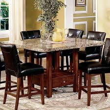 Marble Dining Room Sets Marble Dining Room Marble Top Dining Room Sets Home Furniture