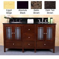bathroom vanity 60 inch: granite top  inch double sink bathroom vanity