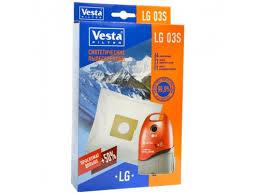 540 р. Аксессуар <b>Vesta</b> LG03S, <b>комплект пылесборников</b>