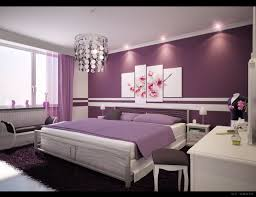 lovely purple wall paint ideas white elegant interior bedroom decorations purple accent wall purple curtain