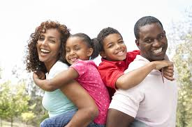 Image result for picture of a young black family