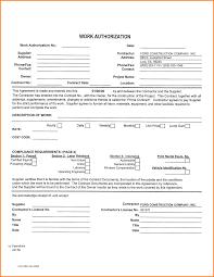 work authorization form letterhead template sample work authorization form 69115213 png