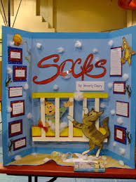 students did projects on books they then the school held a reading fair like a science fair but books i would love to