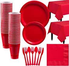 Red Party Supplies - Amazon.com