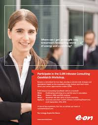 management consulting king s college london graduate school e on inhouse consulting casematch 2015 flyer