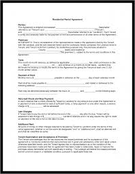 rental application blank lease agreement commercial template it