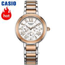 <b>Часы</b> Casio <b>Swarovski</b> Crystal <b>женские часы</b> лучший бренд класса ...