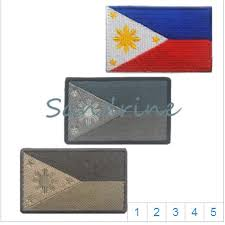 The Philippine national flag <b>3d embroidery</b> the <b>patches</b> for clothes ...