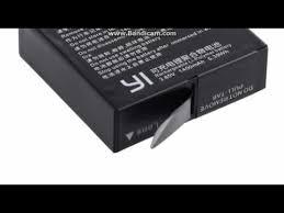 <b>2Pcs Original Xiaomi</b> YI 4K Battery AZ16 1 + LCD USB Dual ...