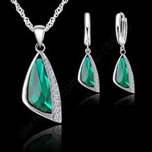 Buy <b>925 sterling silver jewelry</b> set and get free shipping on AliExpress