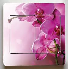 very beautiful flowers switch stickersrose orchid flowers switch stickersfor living room fashion decor light switch stickers beautiful rooms furniture