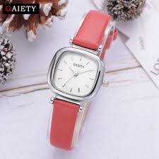 Gaiety <b>Exquisite</b> Red Leather Strap <b>Watches</b> Women Fashion ...