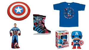 Stand Up, True Believers For This <b>Captain America Gift</b> Guide ...