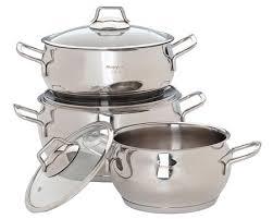 Набор посуды Маруся 2002с нержавеющая сталь 6 предметов ...