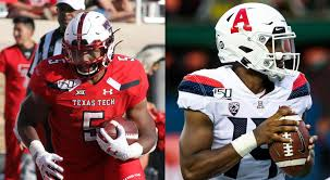 Texas Tech vs Arizona Wildcats Football - September 14, 2019 - Pac ...