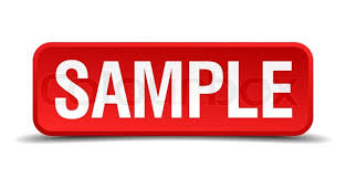 Image result for samplE