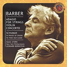 Barber: Adagio for Strings; Violin Concerto / <b>Schuman</b> / Ives / Copland