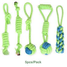 <b>Хлопковая веревка для</b> собак, для чистки зубов, кошек, укусов ...