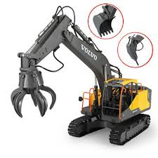 Double E <b>E568</b>-003 RC Excavator <b>3</b> IN <b>1</b> Vehicle Models Engineer ...