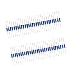 <b>50pcs 1W</b> Resistor Kit 4.7K Ohm <b>Metal Film</b> Resistors: Amazon.in ...